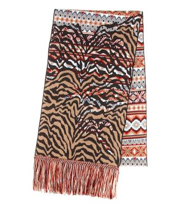 Alanui Wool And Cashmere-blend Scarf