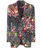 Chlo Floral-printed Blazer