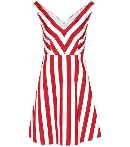 Redvalentino Cotton And Silk Dress