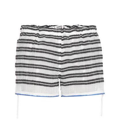 Lemlem Selina Striped Cotton Shorts