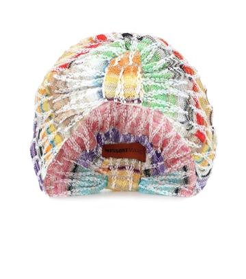 Missoni Knitted Cotton-blend Turban