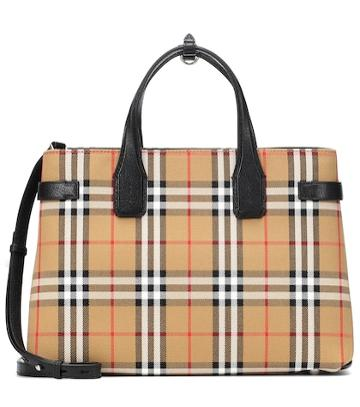 Marc Jacobs The Medium Banner Check Tote
