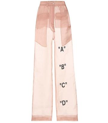 Off-white Exclusive To Mytheresa.com – Tomboy Organza Trousers