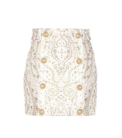 Stella Mccartney Jacquard Miniskirt