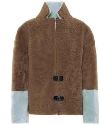 Jimmy Choo Shearling Coat