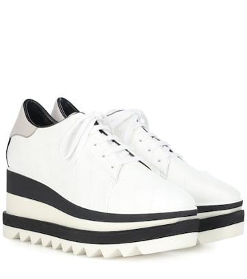 S Max Mara Sneak-elyse Platform Sneakers