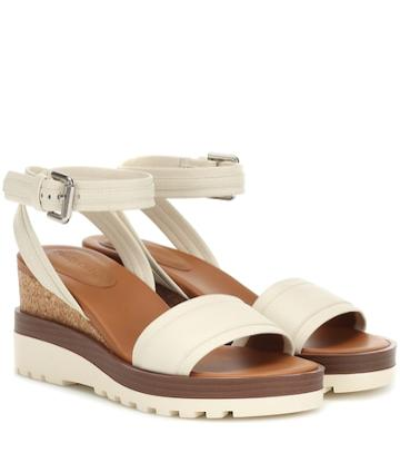 See By Chlo Leather Wedges