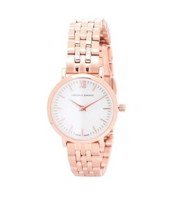 Larsson & Jennings Lugano Vasa 26 Mm Gold-plated Watch