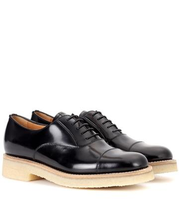 The Row Exclusive To Mytheresa.com – Sheffield Leather Oxford Shoes