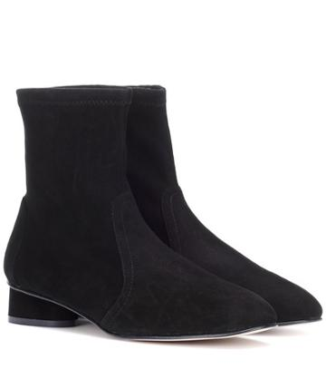 Dolce & Gabbana Quebec Suede Ankle Boots