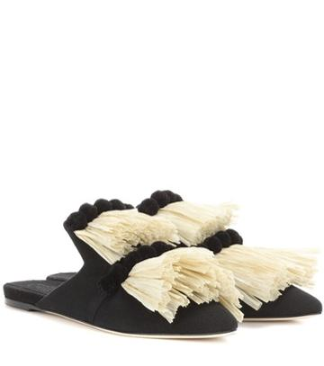 Barrie Canvas Slippers