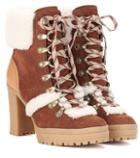 See By Chlo Claudia Suede Ankle Boots