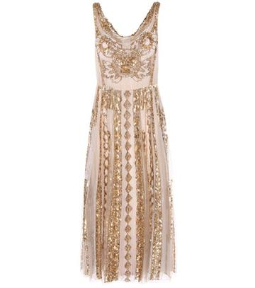 Tre Ccile Embellished Dress