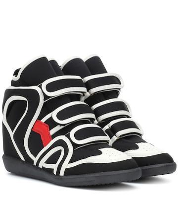 Msgm Buckee High-top Sneakers