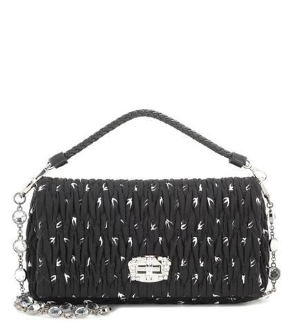 Miu Miu Matelassé Shoulder Bag