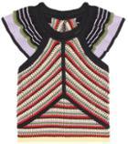 Alexachung Striped Cotton Top