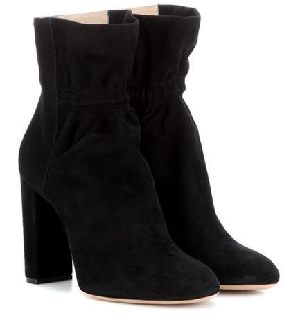 Chlo Suede Ankle Boots