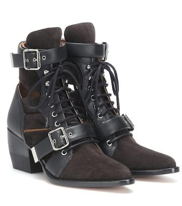 Brock Collection Rylee Suede Ankle Boots