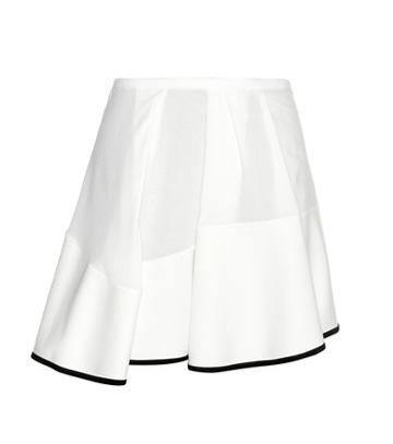 Gianvito Rossi Rumer Cotton Skirt