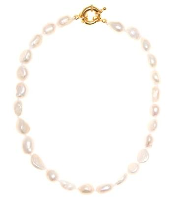 Timeless Pearly Freshwater Pearl Necklace
