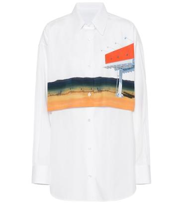 Bottega Veneta Printed Cotton Shirt