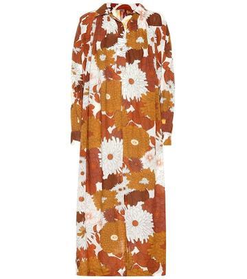 Christian Louboutin Floral Cotton Dress