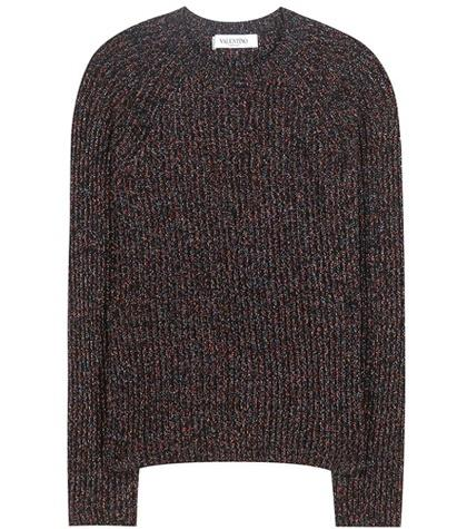 Valentino Wool-blend Knitted Sweater
