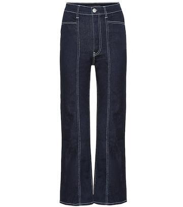 3x1 Albany High-rise Straight Jeans