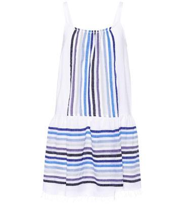 Gianvito Rossi Sleeveless Cotton-blend Dress