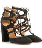 Gianvito Rossi Holli 105 Suede Ankle Boots