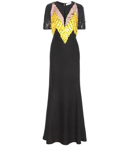 Altuzarra Loretta Sequinned Silk Dress