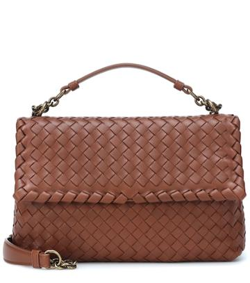 Alessandra Rich Olimpia Small Leather Shoulder Bag