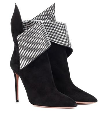 Stella Mccartney Night Fever 105 Suede Ankle Boots