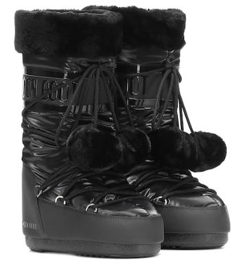Moon Boot Exclusive To Mytheresa – Classic Pom Pom Ankle Boots