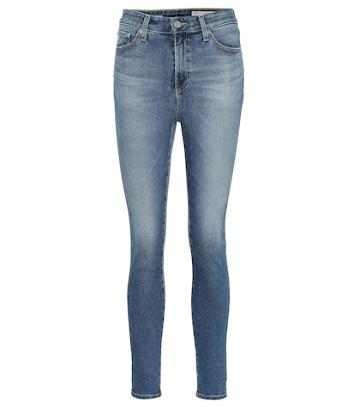 Balenciaga The Mila Ankle High-rise Skinny Jeans