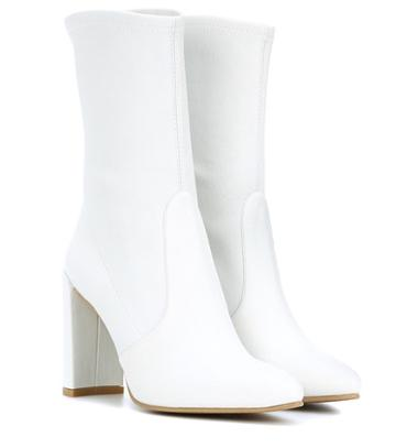 Stuart Weitzman The Clinger Leather Ankle Boots