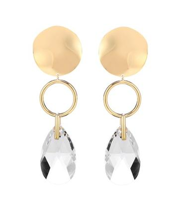 Isabel Marant Crystal-embellished Drop Earrings