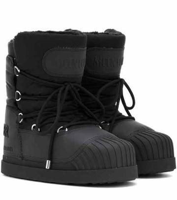 A.p.c. X Moon Boot® Uranus Ankle Boots