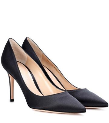 Gianvito Rossi Gianvito Rossi 85 Satin Pumps