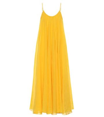 Three Graces London Mabelle Ramie Maxi Dress