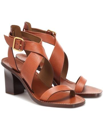 Chlo Virginia Leather Sandals