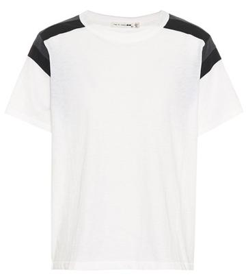 Gianvito Rossi Panel Cotton T-shirt