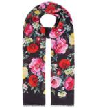 Dolce & Gabbana Floral-printed Cotton Scarf