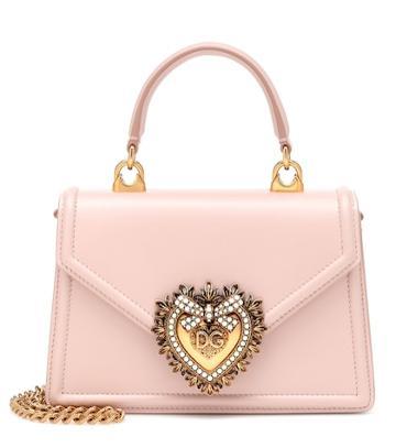 Jimmy Choo Devotion Small Leather Shoulder Bag