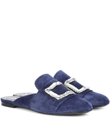 Roger Vivier Exclusive To Mytheresa.com – Suede Slippers