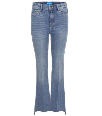 M.i.h Jeans The Stevie Cropped Flared Jeans