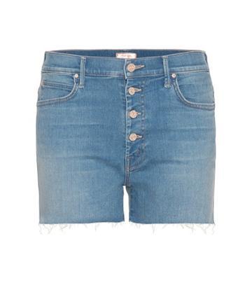 Gianvito Rossi Rascal Pixie Denim Shorts