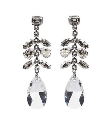 Isabel Marant Peace Embellished Drop Earrings
