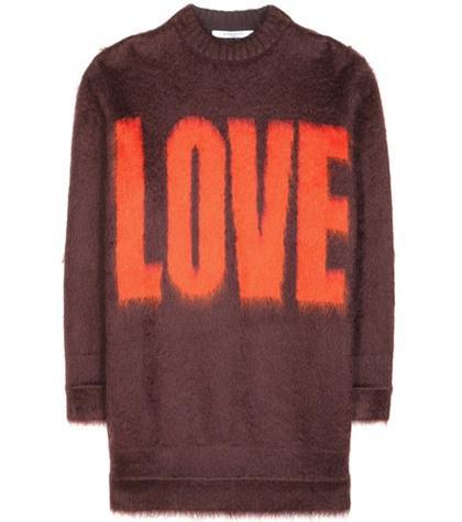 Stella Mccartney Mohair And Wool-blend Sweater