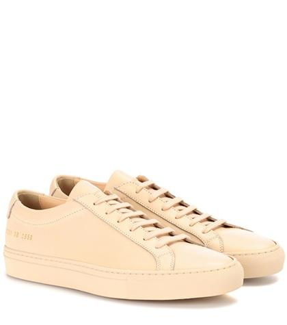 Common Projects Original Achilles Low-top Leather Sneakers